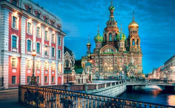 Санкт-Петербург относится к