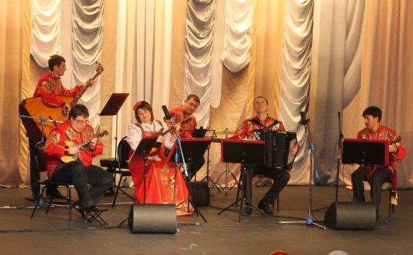 Музыка в исполнении ансамбля «