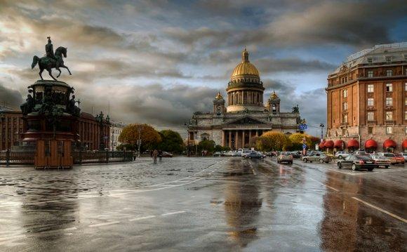Мы едем в Петербург. 5 дней