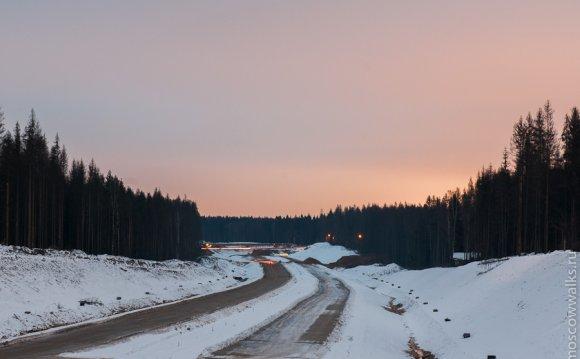Платная магистраль до