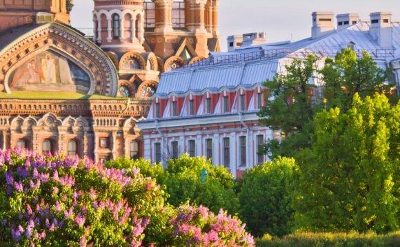 Санкт-Петербург — отдых