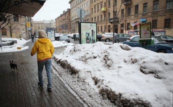 Санкт-Петербург в феврале 2011