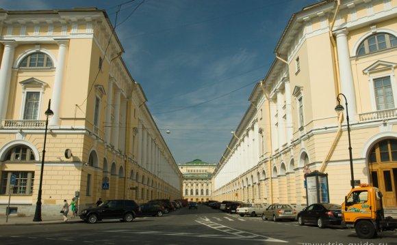 Улица Росси в Санкт-Петербурге